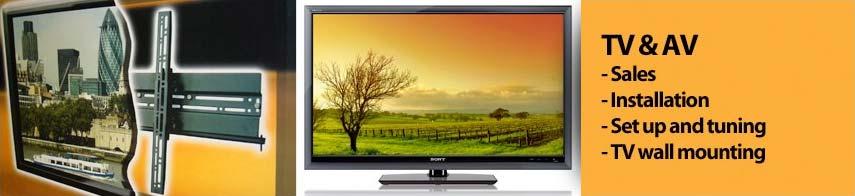 TV and AV Banner image